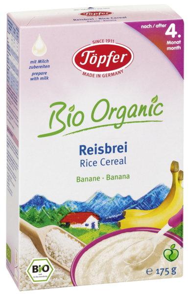 Lactana Безмлечна каша ориз (30% пълнозърнест) 4м+. 175 гр.